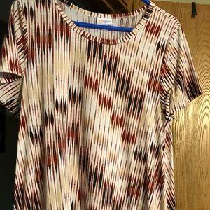 Lularoe Jessie Dress Size Large